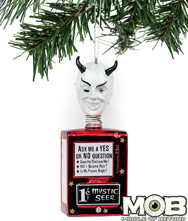 Twilight Zone - Nick of Time Mystic Seer Glass Ornament