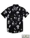 Twilight Zone Short Sleeve Button-Up Shirt