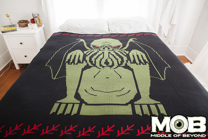 Cthulhu Lovecraft Blanket