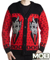 Krampus The Christmas Devil Cardigan