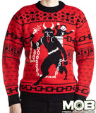 Krampus The Christmas Devil Sweater