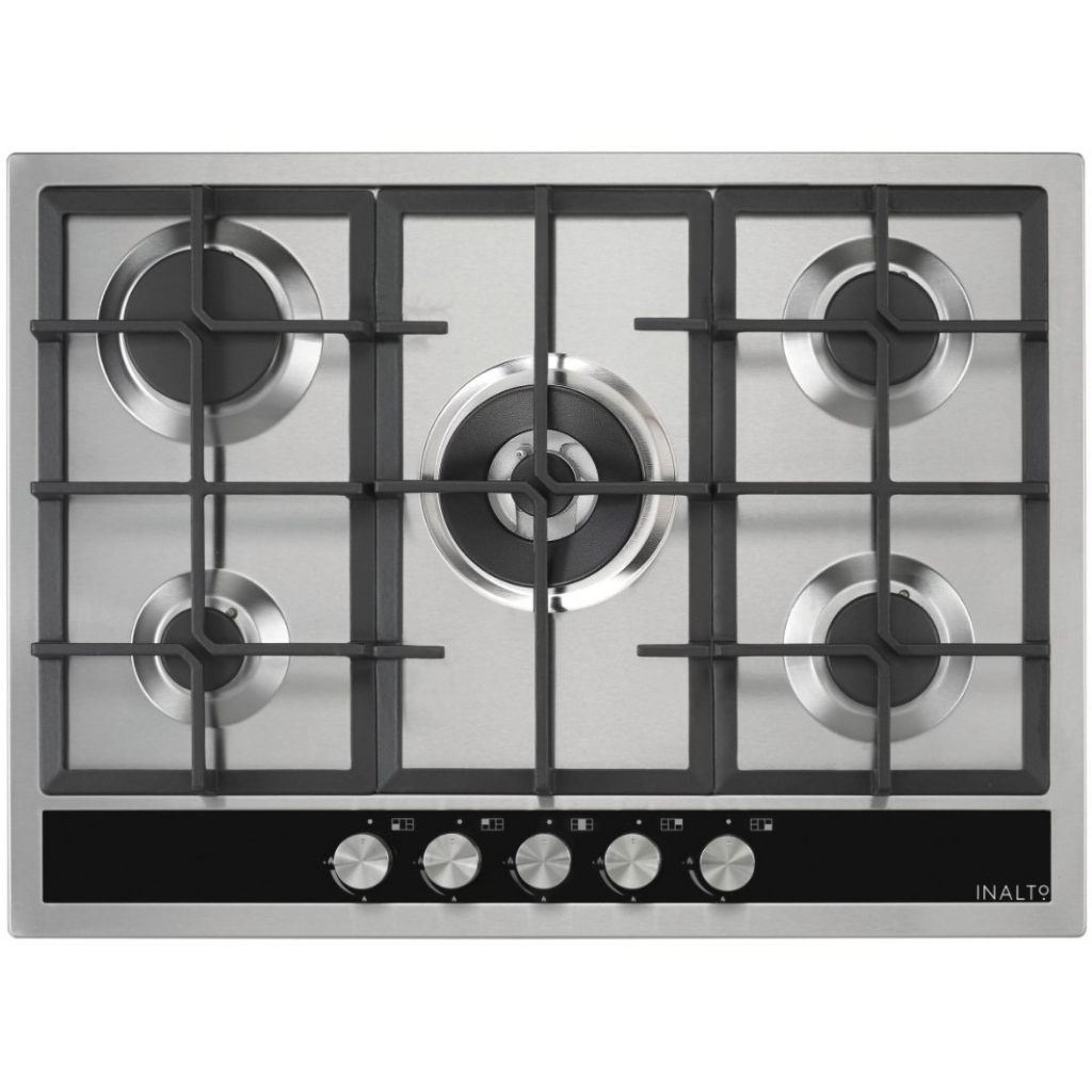 70cm Gas Cooktop with Wok Burner ICGW70S