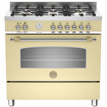 Load image into Gallery viewer, 90cm Dual Fuel Upright Cooker HER906MFESCRT