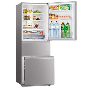 370L 3 Door Bottom Mount Fridge - Argent Silver MRCGX370EPGSL