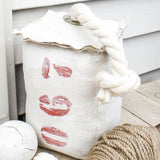 067 Nautical Fabric Buoy Door Stopper