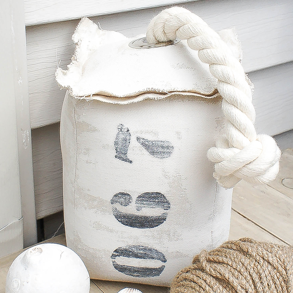 067 Nautical Fabric Buoy Door Stopper-Heavy Duty