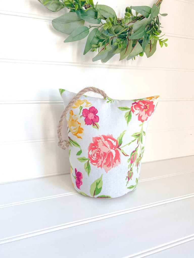 Floral Cottage Door Stopper