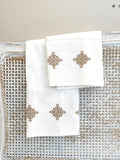 Embroidered Farmhouse Pillow Cases