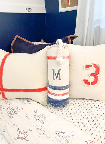 Nantucket Buoy Pillow