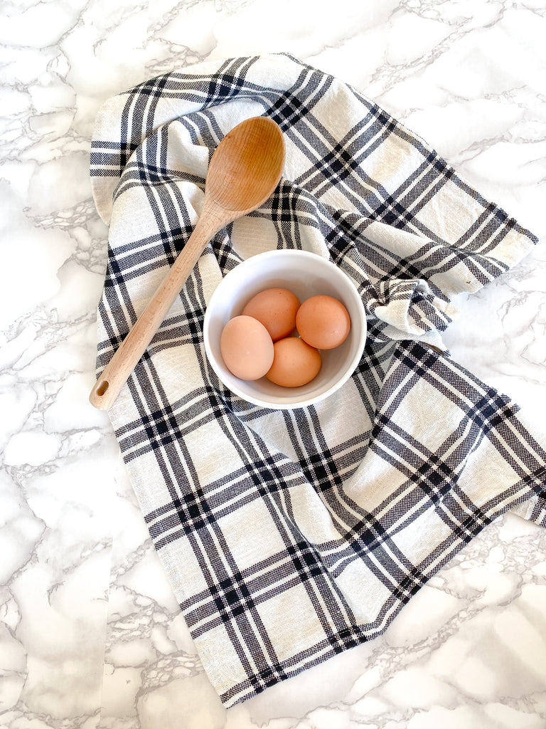 Plaid Kitchen Towel