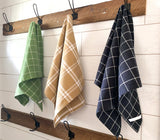 Windowpane Plaid Kitchen Towel
