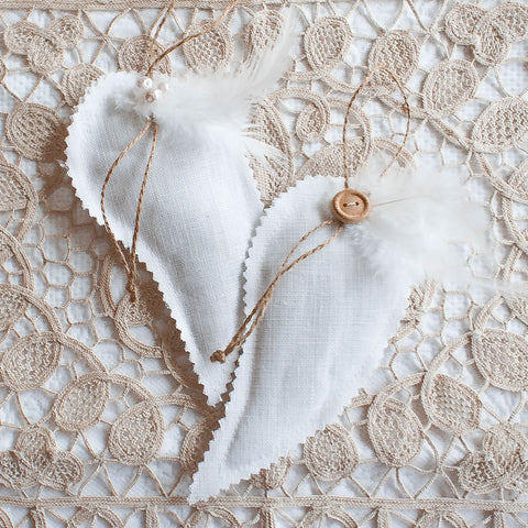 Romantic Rag Tie Wedding Garland
