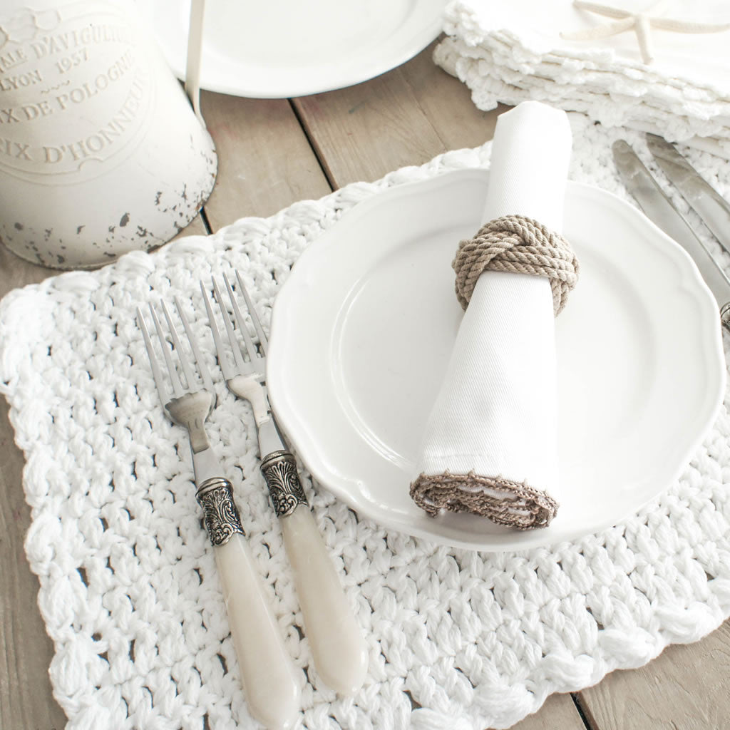 Ardenne Crocheted  Placemats