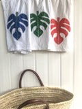 Palm leaf Kitchen Towels