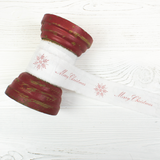 Merry Christmas Decoration Ribbon