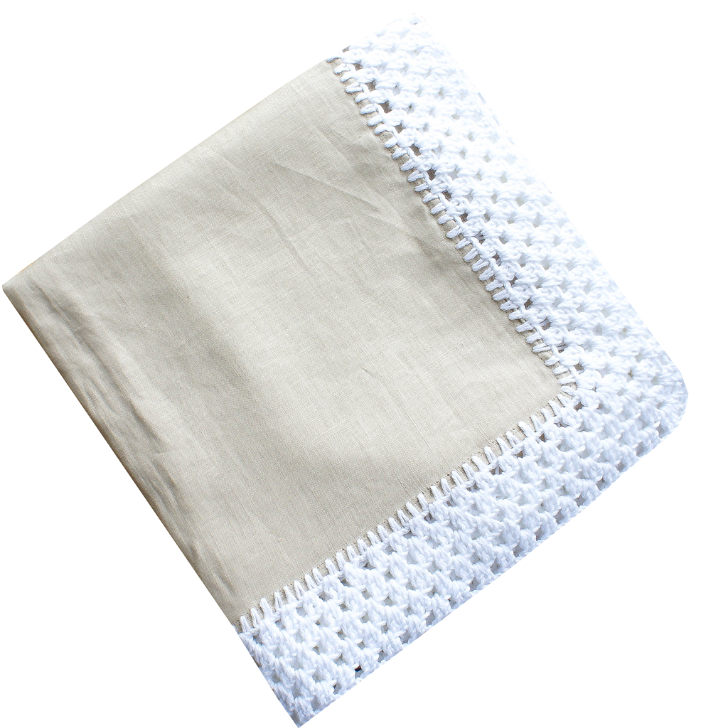 Montsoreau Linen Throw