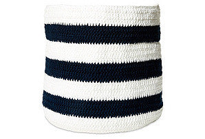 Cotton Handwoven Nautical Basket