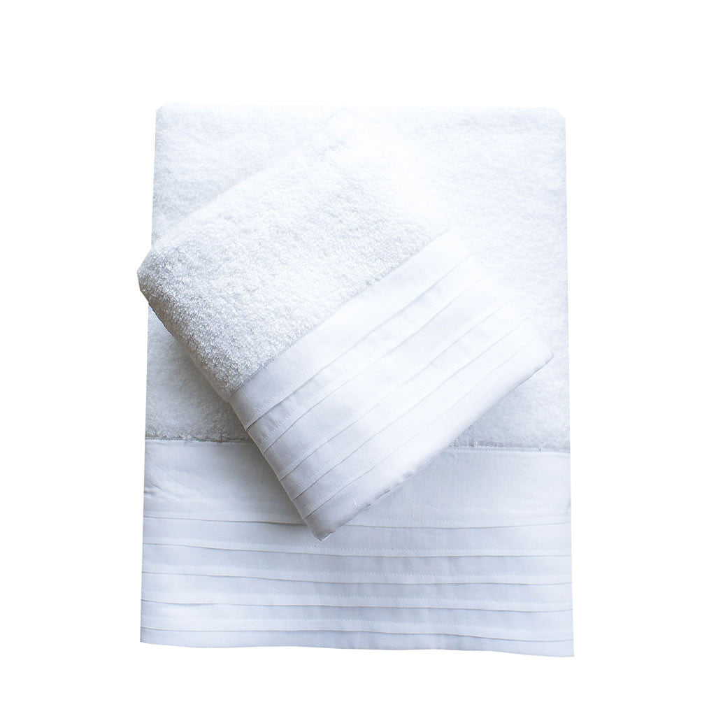 Provence Terry Towel Set-White