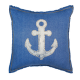 Anchor Indigo Pillow
