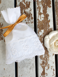Romantic Chantilly Lace Wedding Favor Bags