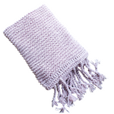 Provence Hand Knit Chunky Wool Throw