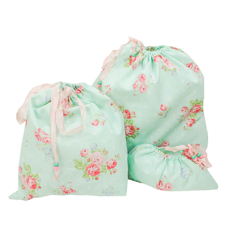 Romantic Floral Travel Bags