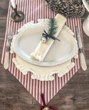Bells Ticking Stripe Runner