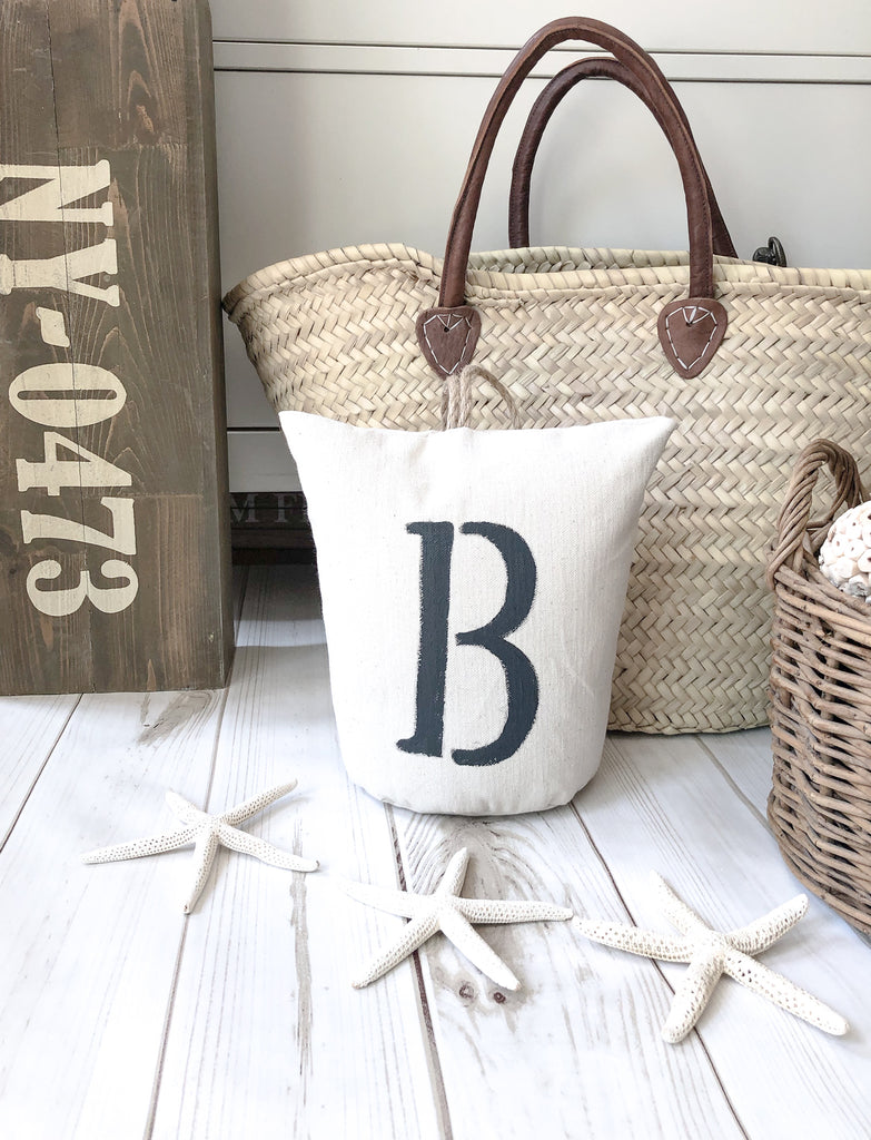 Monogram Canvas Door Stop