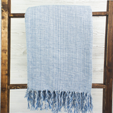 Nautical Cotton Melange Blanket