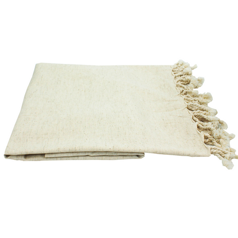 Linen Blend Throw