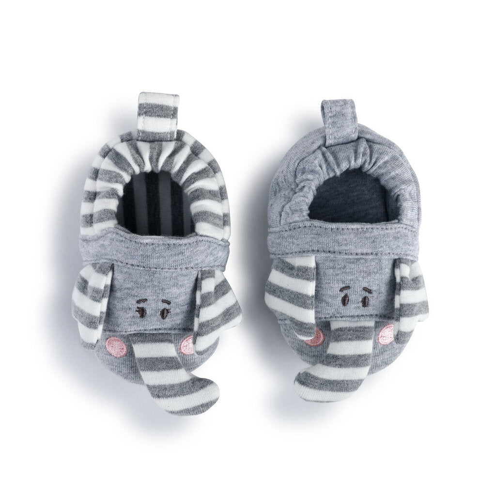 Elephant Booties 6-9 mos