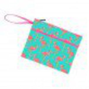 Zip Pouch Wristlet - Tickled Pink