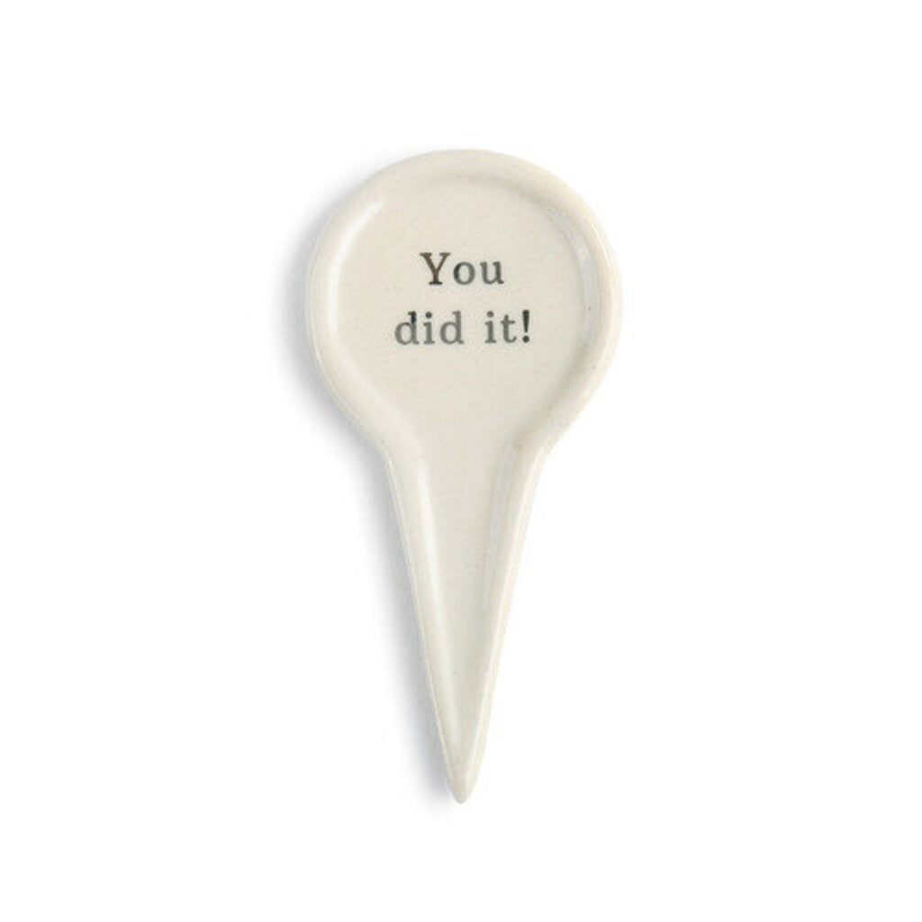 You Did It Cupcake Topper