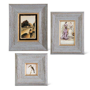 Slate Gray Photo Frame - Med