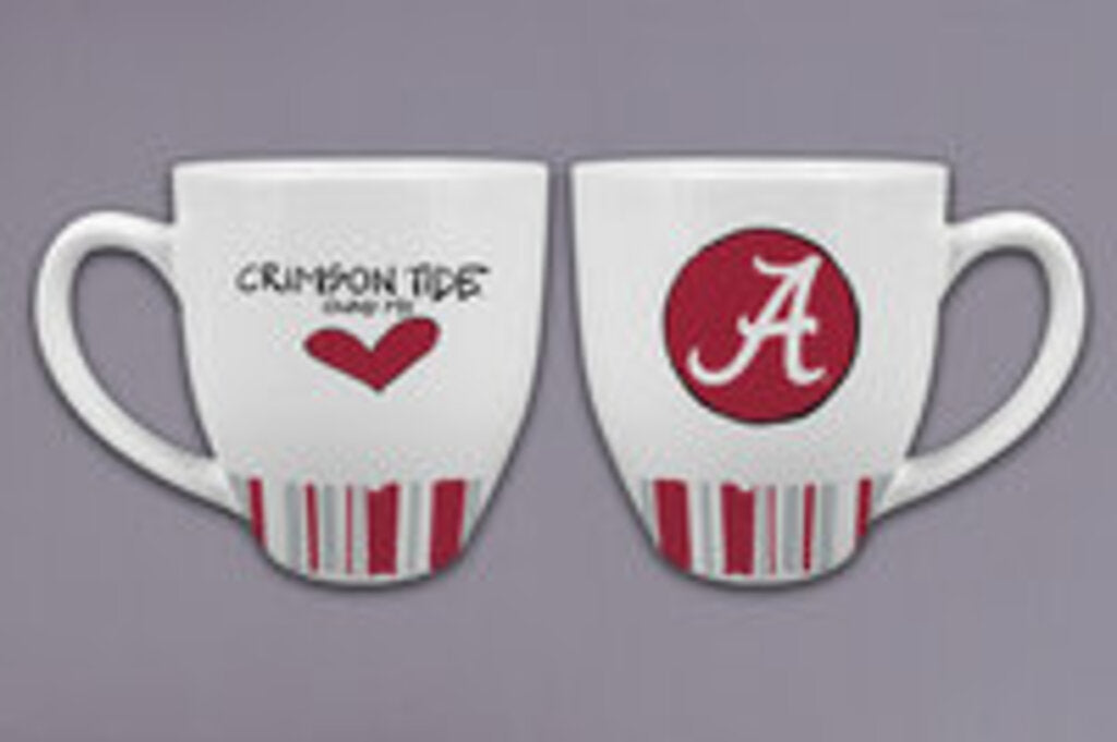 UA Heart Striped Mug