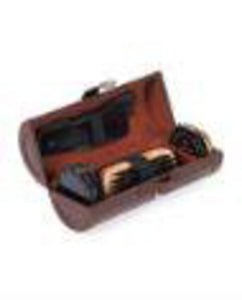 Mad Man Shoe Shine Kit - Brown