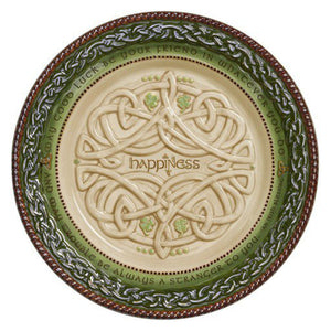 Celtic Dessert Plate w/Stand