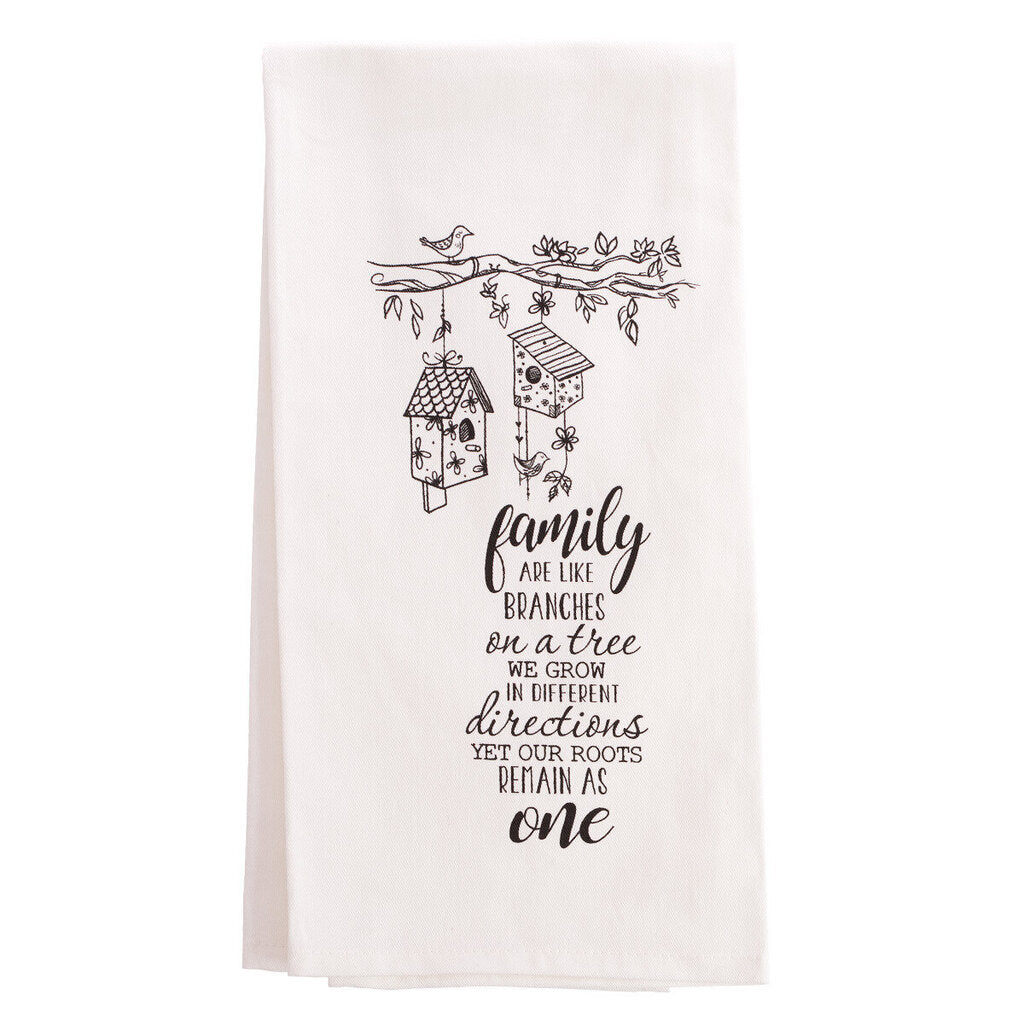 Family Branches Tea Towel