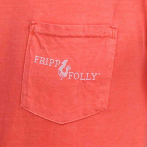 Fripp & Folly T-Shirt - Blue Crab - Size Small