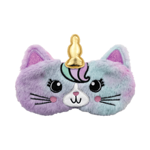 Load image into Gallery viewer, Eye Mask - Caticorn Furry Holographic