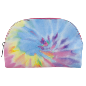 Pastel Tie Dye Small Cosmetic Bag