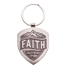 Load image into Gallery viewer, Keychain - Metal - Faith Matt.17:20