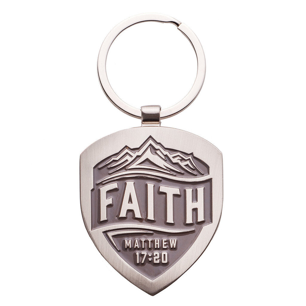 Keychain - Metal - Faith Matt.17:20