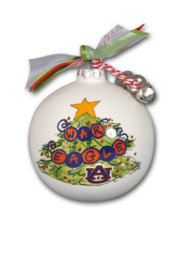 AU Christmas Tree Ornament - War Eagle