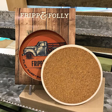 Load image into Gallery viewer, FF Stone Truck Coaster Gift Set