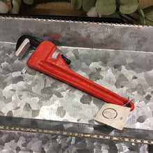 Load image into Gallery viewer, Red Wrench Bottle Opener