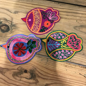 Colour Bird Coasters-4 asst styles