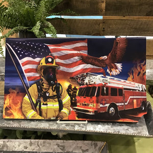 Mailbox Makeover - Firefighters