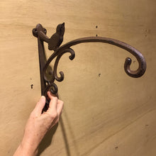 Load image into Gallery viewer, Cast Iron Bird Hook