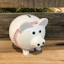 Load image into Gallery viewer, Piggy Bank- Baseball